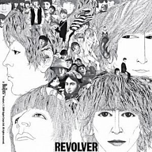 Beatles Revolver LP Cover drinks mat / coaster     (hb)